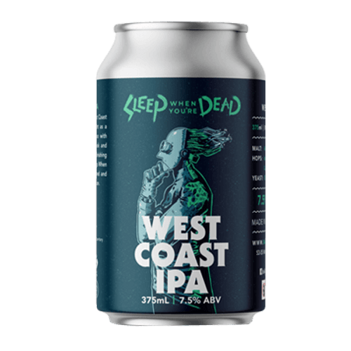 Ballistic Sleep When You're Dead West Coast IPA