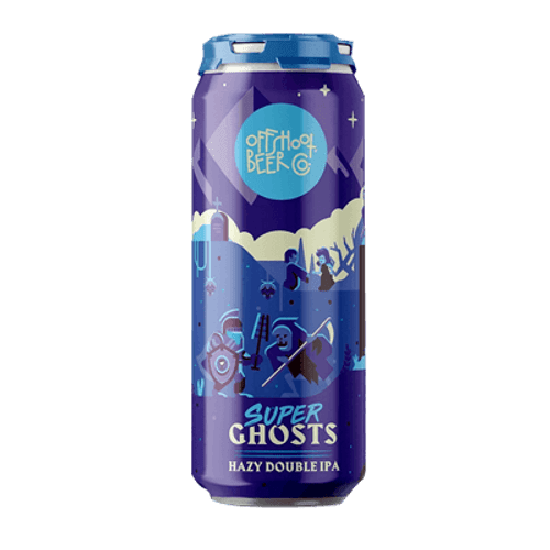 Offshoot Super Ghosts Hazy Double IPA