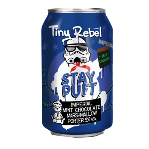 Tiny Rebel Stay Puft Imperial Mint Chocolate Porter
