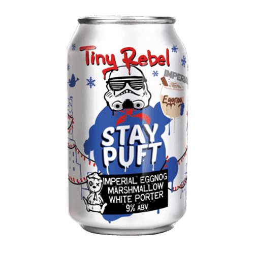Tiny Rebel Stay Puft Imperial Eggnog Marshmallow White Porter