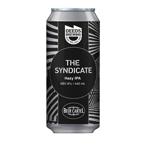 Deeds/Beer Cartel The Syndicate Hazy IPA