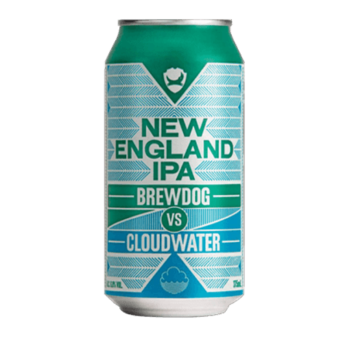 BrewDog VS Cloudwater New England IPA 375ml Can