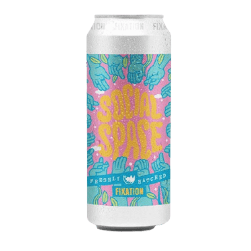 Fixation Social Space Oat Cream DIPA