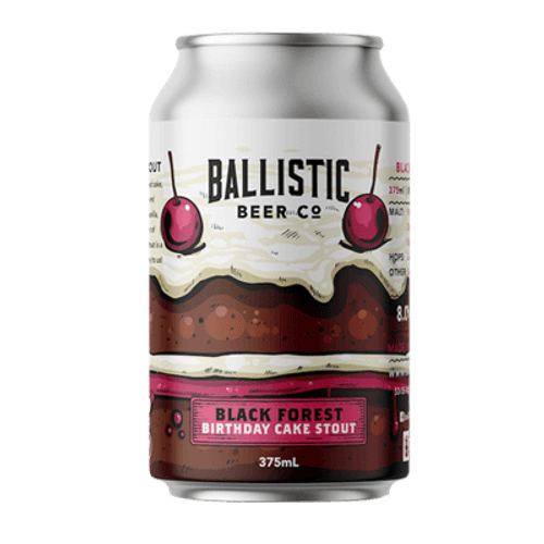 Ballistic Black Forest Birthday Cake Stout