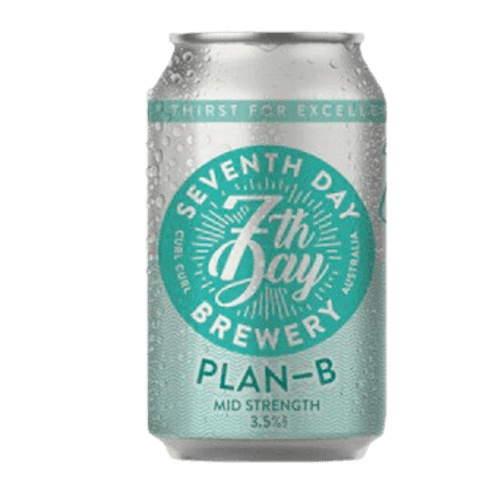 Seventh Day Plan B Mid Strength Lager
