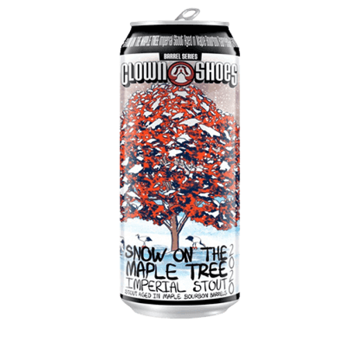Clown Shoes Snow on the Maple Tree BA Stout