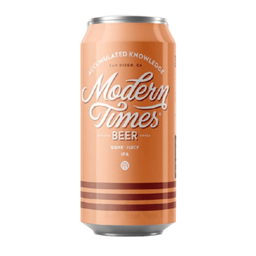 Modern Times Accumulated Knowledge Hazy IPA