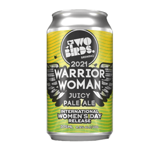 Two Birds Warrior Woman XPA 375ml Can