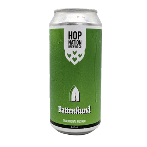 Hop Nation Rattenhund Pilsner