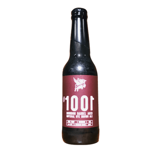 New England #1001 Bourbon Barrel Aged Imperial Brown Ale