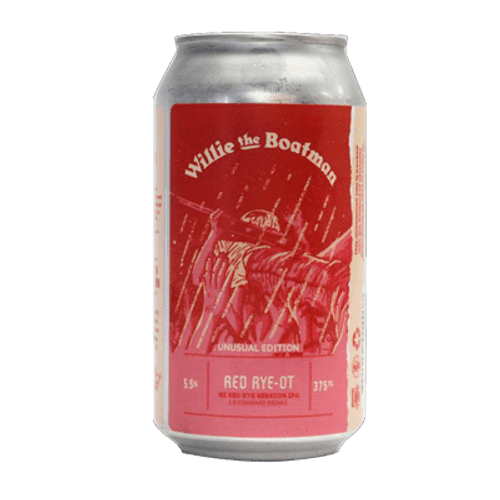 Willie The Boatman Red Rye-Ot Session IPA