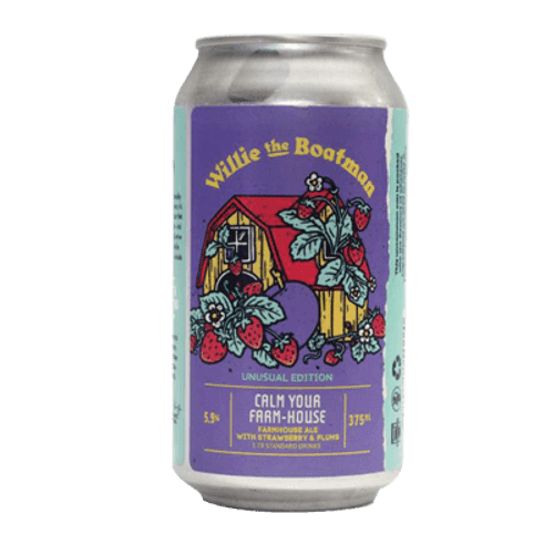 Willie the Boatman Calm Your Farm-House Farmhouse Ale