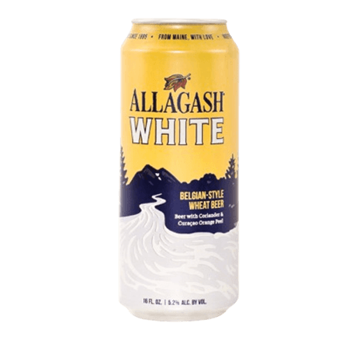 Allagash White Beglian-Style Wheat Beer 473ml Can