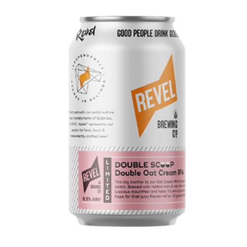 Revel Double Scoop Double Oat Cream IPA