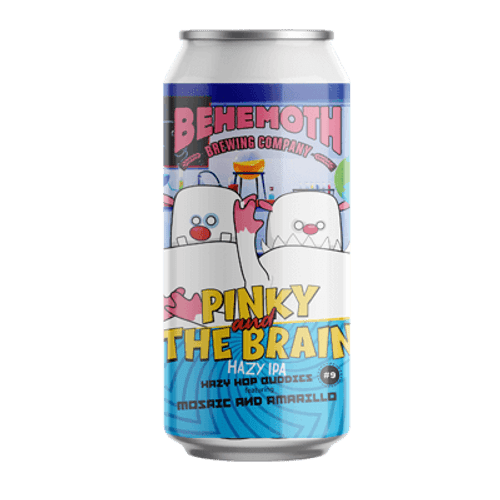 Chur Hop Buddies #9 Pinky and The Brain Hazy IPA