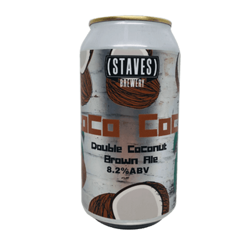 Staves Loco Coco Double Coconut Brown Ale