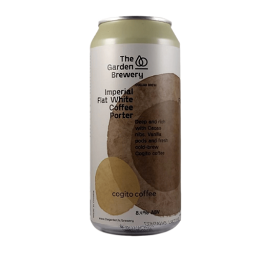 The Garden Imperial Flat White Coffee Porter 440ml Can