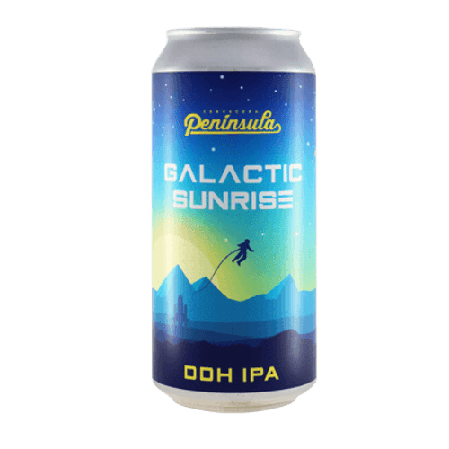 Cervecera Peninsula Galactic Sunrise DDH IPA
