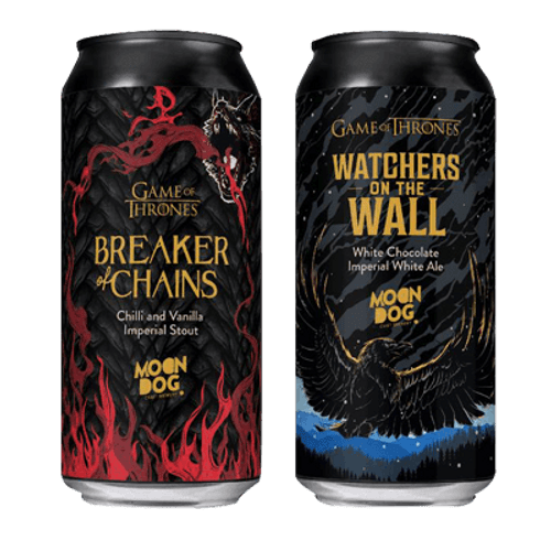 Moon Dog Game of Thrones Beer Twin Pack