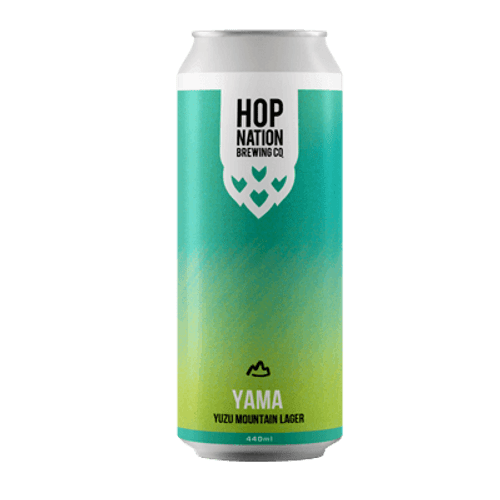 Hop Nation Yama Yuzu Mountain Lager