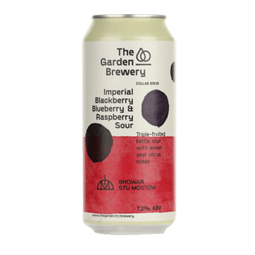 The Garden Imperial Blackberry, Blueberry & Raspberry Sour Ale