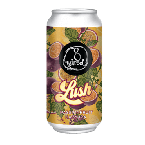 8 Wired Lush Passionfruit Hazy IPA