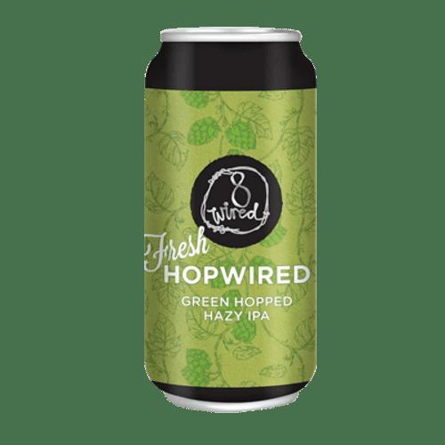 8 Wired Fresh Hopwired Green Hopped Hazy IPA 440ml Can