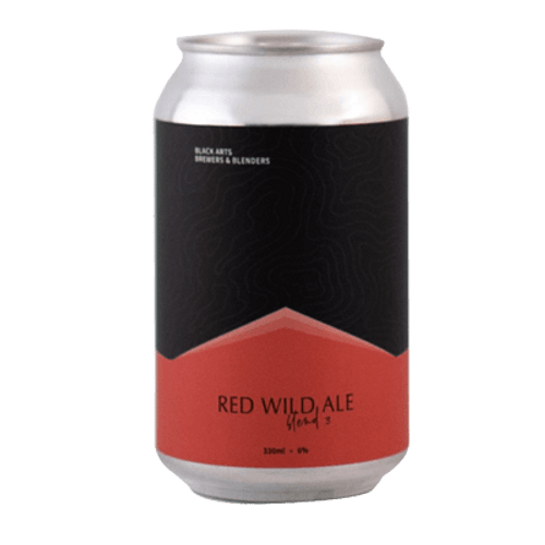 Black Arts Red Wild Ale 330ml Can