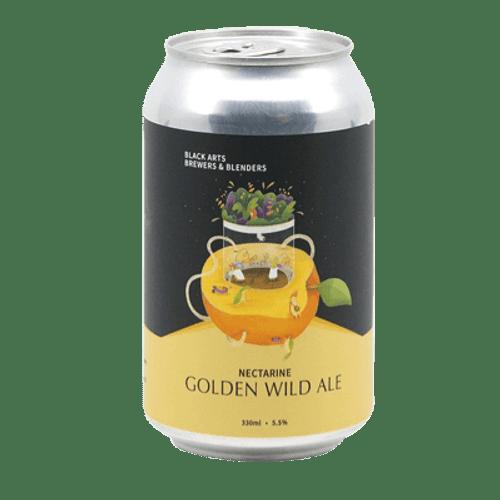 Black Arts Golden Wild Nectarine Ale 330ml Can