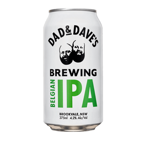 Dad and Dave's Belgian IPA 375ml Can