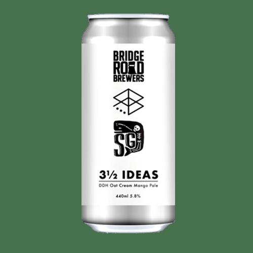 Bridge Road/Range/Sailors Grave 3 1/2 Ideas DDH Oat Cream Mango Pale Ale
