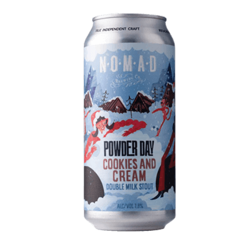 Nomad Powder Day Cookies & Cream Imperial Stout 440ml Can