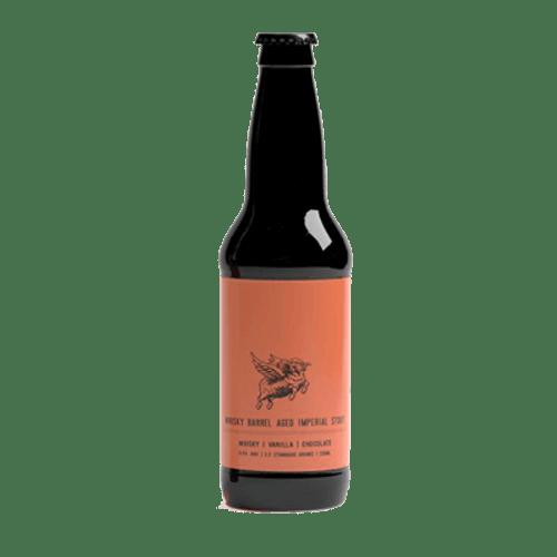 New England Whiskey Barrel Aged Imperial Stout 330ml Bottle