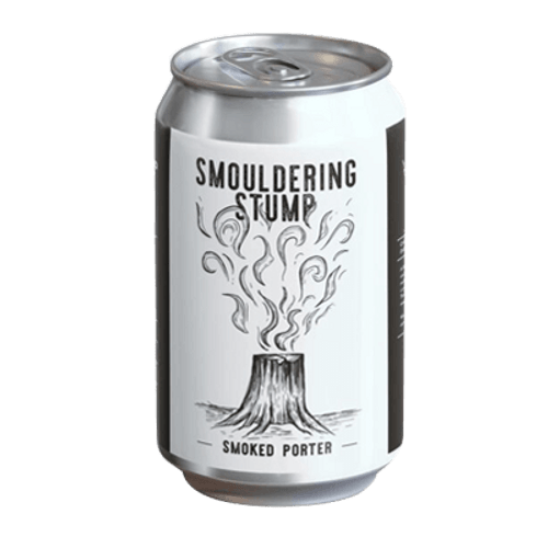 New England Smouldering Stump Smoked Porter 375ml Can