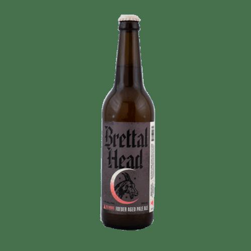 Bellwoods Brettal Head American Brett Foeder Aged Pale Ale 500ml Bottle