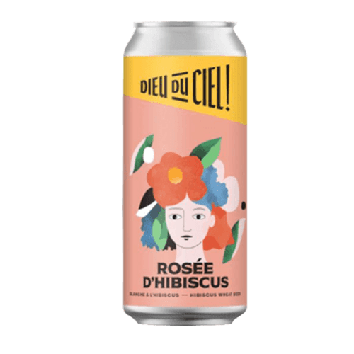 Dieu du Ciel Rosee D'Hibiscus Wheat Beer 473ml Can