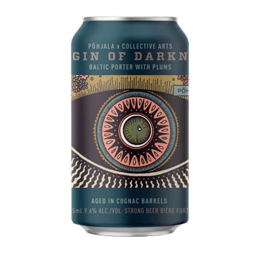Collective Arts Origin of Darkness Pohjala Collab Porter 2020 355ml Can