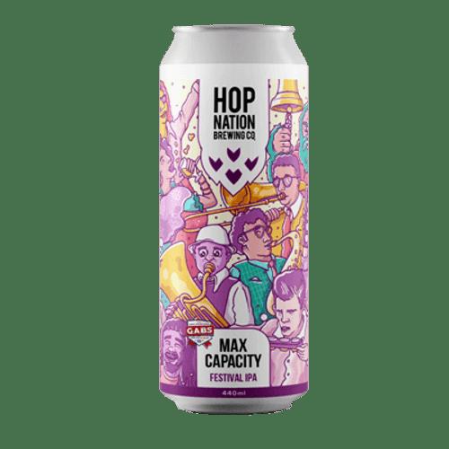Hop Nation Max Capacity Festival IPA 440ml Can