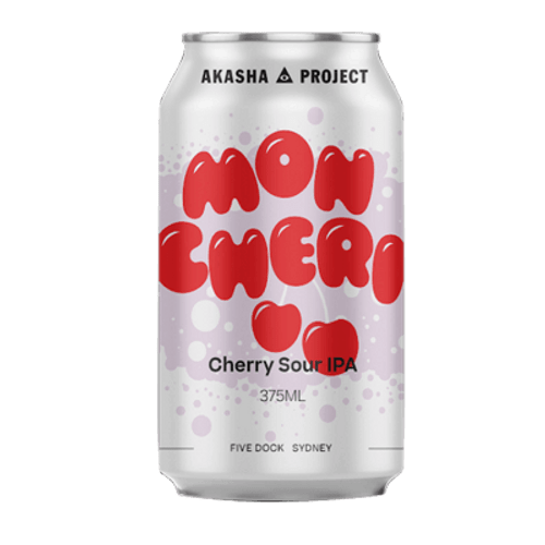 Akasha Mon Cheri Cherry Sour IPA 375ml Can