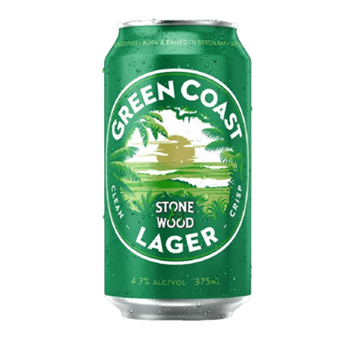 Stone & Wood Green Coast Lager 375ml Can