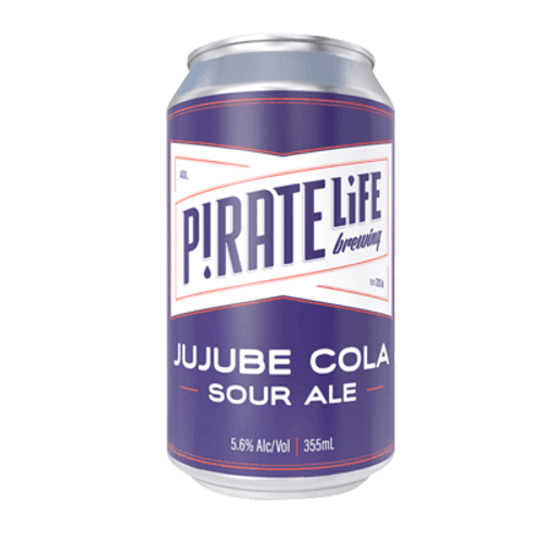 Pirate Life Jujube Cola Sour Ale 375ml Can