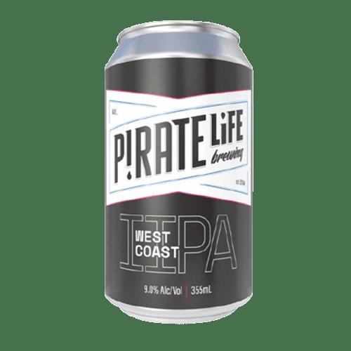 Pirate Life West Coast IIPA 375ml Can