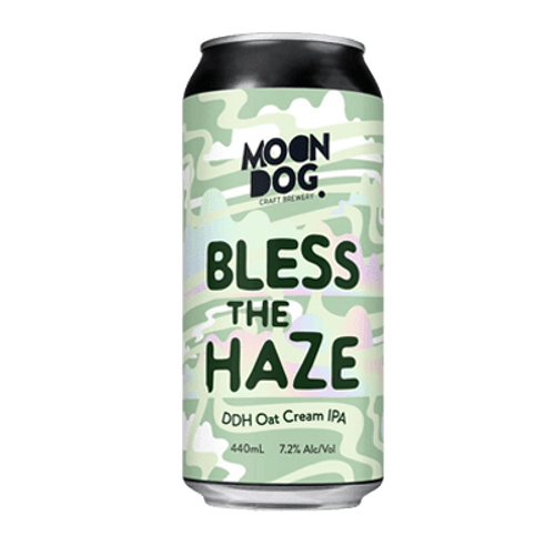 Moon Dog Bless This Haze DDH Oat Cream IPA 440ml Can