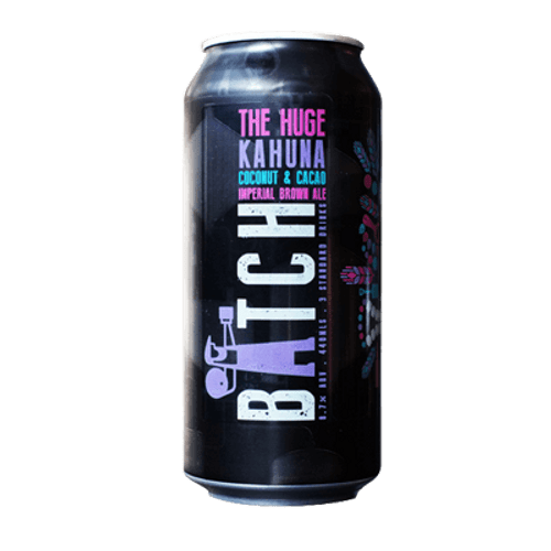 Batch The Huge Kahuna Coconut & Cacao Imperial Brown Ale 375ml Can