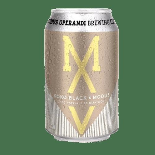 Modus Operandi Koko Black Choc Hazelnut Belgian Stout 375ml Can