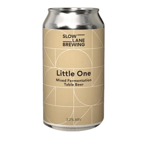 Slow Lane Little One Mixed Fermentation Table Beer 375ml Can