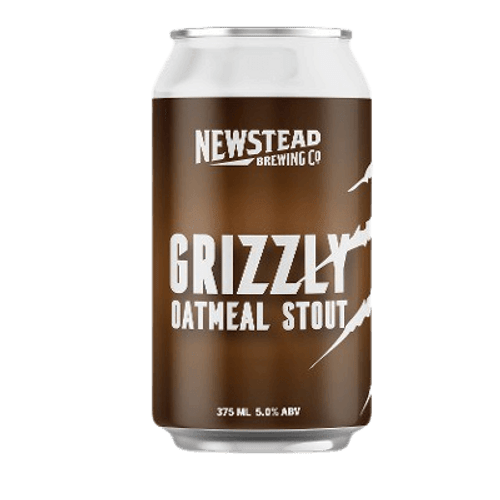 Newstead Grizzly Oatmeal Stout 375ml Can