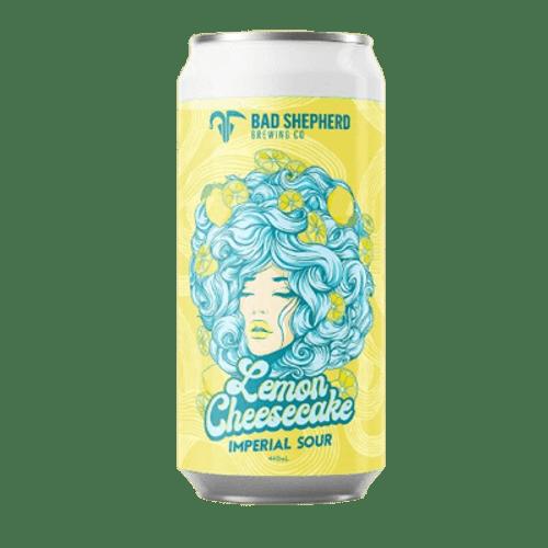 Bad Shepherd Lemon Cheesecake Imperial Sour Ale 440ml Can