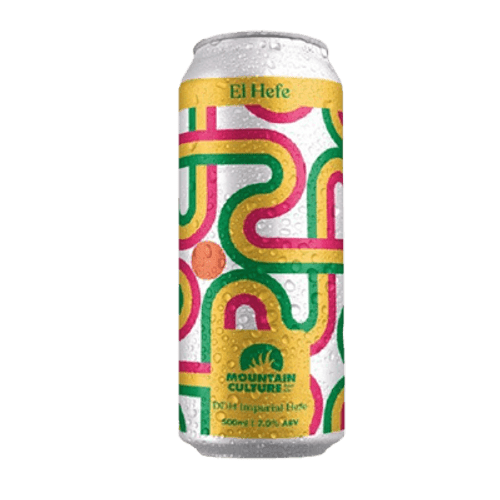 Mountain Culture El Hefe DDH Imperial Hefe 500ml Can