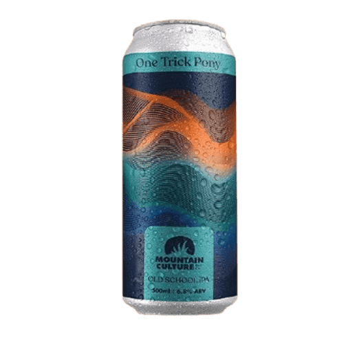 Mountain Culture One Trick Pony Old School IPA 500ml Can